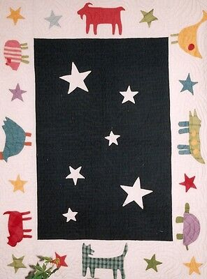 "New Quilt Pattern by Country Threads  ""Animal Crackers""  (32 x 42 Crib Quilt)"