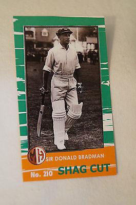 DON BRADMAN - Millhouse Tobacco Series - Shag Cut # 210