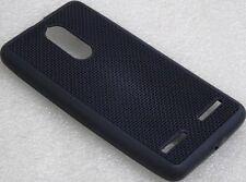 Net Design Soft TPU Back Cover Case For Lenovo K6 Power - Black