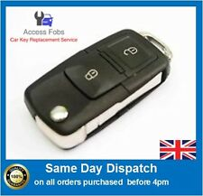 NEW Remote Key Alarm Fob for VW GOLF, BORA, TRANSPORTER T5, 2 button