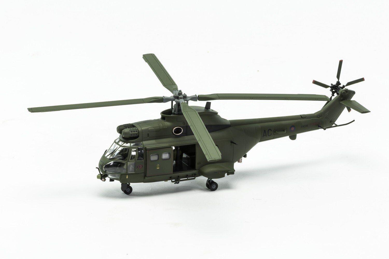 Corgi Westland Puma HC.1 AA27005, XW220 AC, No.72 Escuadrón RAF, Aldergrove, 1997