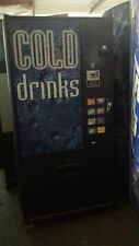 Dixie Narco 368-8 Flat Front Soda Vending Machine Pepsi/Coke W/Bill Acceptor