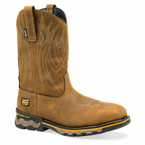 Timberland-Pro-Men-039-s-Ag-Boss-Pull-On-Square-Alloy-Safety-Toe-Waterproof-1001A