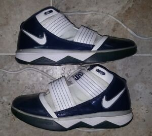 reputable site 4a1a4 e9be0 Details about 2009 Nike Lebron James Zoom Soldier 3 Men's Size US8.5 SUPER  RARE!!!