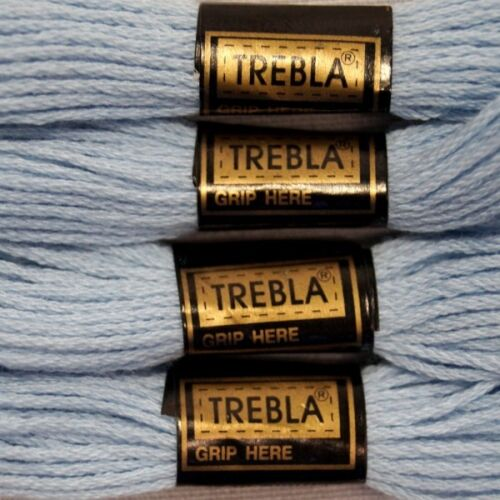 6 or 12 x 8m Trebla Embroidery Cross Stitch Thread Skeins 100/% Cotton 3
