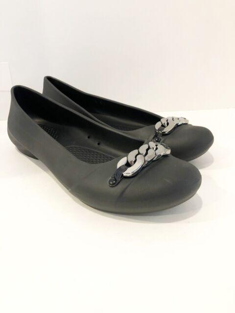 Crocs Women's Size 10 Black Ballet