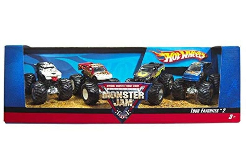 Hot Wheels Confiture de Monstre Tour Favoris – Styles