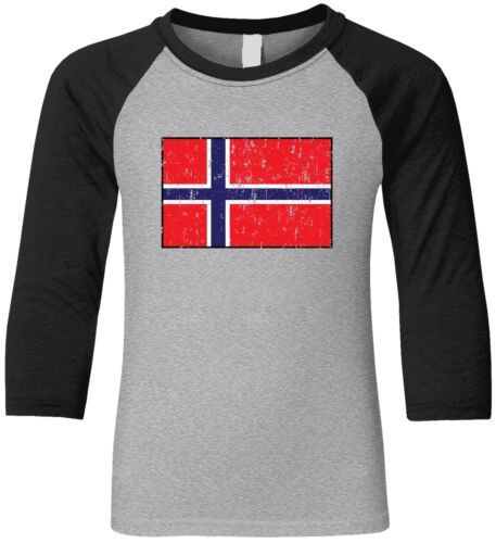Norway Country Pride Game Day Soccer The Lions Lovene Team  Youth Raglan Shirt