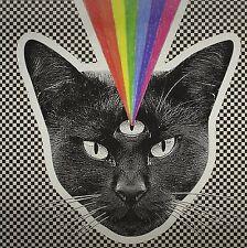 NEVER SHOUT NEVER Black Cat LP / Colored VINYL NEW / Open (See Desc) w/ download