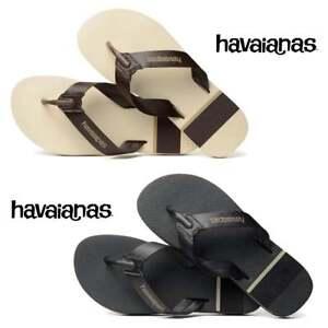 96918fec7 Image is loading Havaianas-Urban-Craft-Flat-Flip-Flops-Mens-Boys-