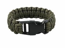 965 Rothco Deluxe Paracord Bracelets Olive Drab Length 7 Inches