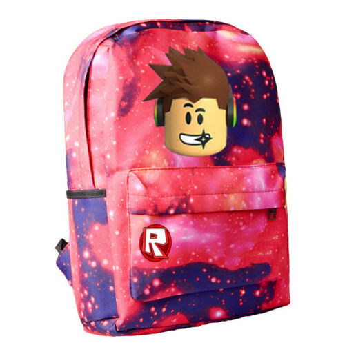 Roblox Backpack Kids School Bags Students Boy Bookbag Handbags Travelbag College