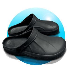 Clogs-Schuhe-Hausschuh-Magnus-41-42-43-44-45-46-Herrenschuhe-schwarz-geschlossen