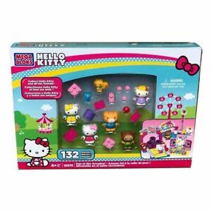 NEW-Mega-Bloks-Hello-Kitty-Thomas-Tracy-Fun-at-the-Arcades-Figure-Building-Set