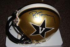 Pat Toomay autographed Vanderbilt mini helmet