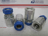 062-050 Perfit Non Wt,mc Connector, 1/2, Lot Of 4, Free Ship.