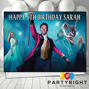 Personalised-The-Greatest-Showman-Birthday-Any-Greetings-Card-A5-Your-Name