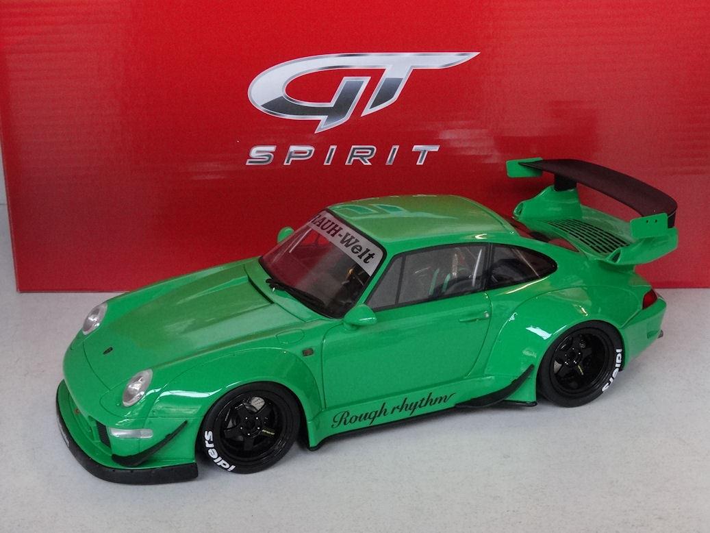 GT -anda  Porsche 911 993 RWB RAUW -Welt Begiff grön, 1 18, New