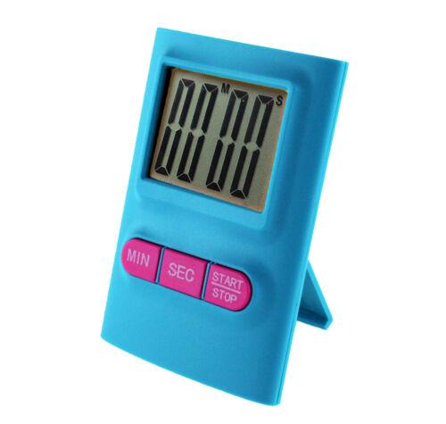 Bleu Minuteur Electronique de Cuisine avec écran Digital LED