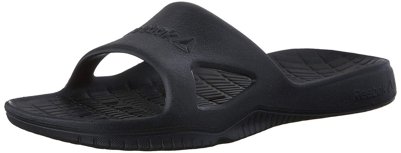 31402da9ac0 Reebok Kobo H2out Slide Sandals V70357 Black Mens US Size 11 UK 10 ...