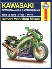 Owners' Workshop Manual: Kawasaki, ZX750 (Ninjas ZX-7 and ZXR 750) Fours, 1989-1995 by John Haynes (1995, Paperback)