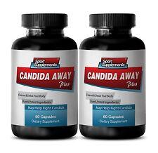 L.Acidophilus - Candida Away 1275mg SS - Antifungal Detox Your Body Pills 2B