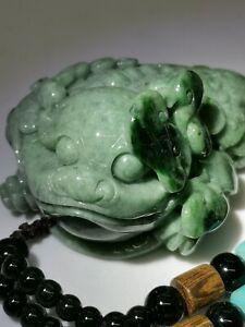 Green-Burmese-Jadeite-Jade-Golden-Toad-Hand-Piece