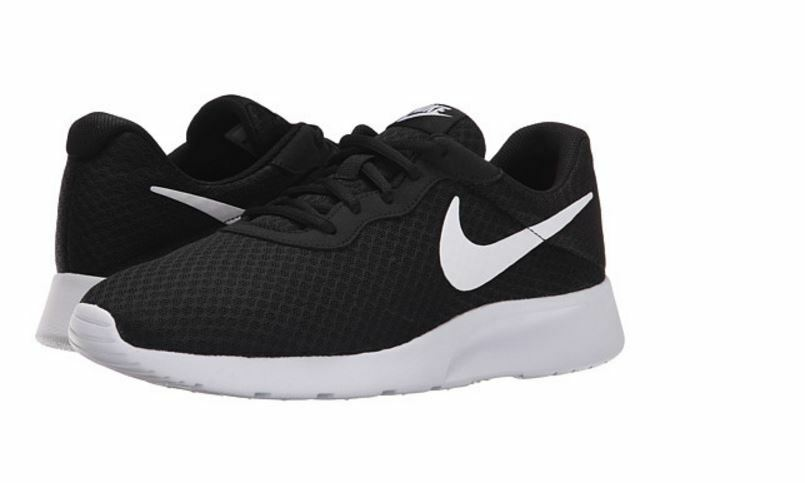 Nike Tanjun  Men's Running shoes Black White 812654 011  Fast shipping KHO91010b