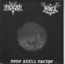 Azaghal /  Sael  ‎– None Shall Escape... - split 7""