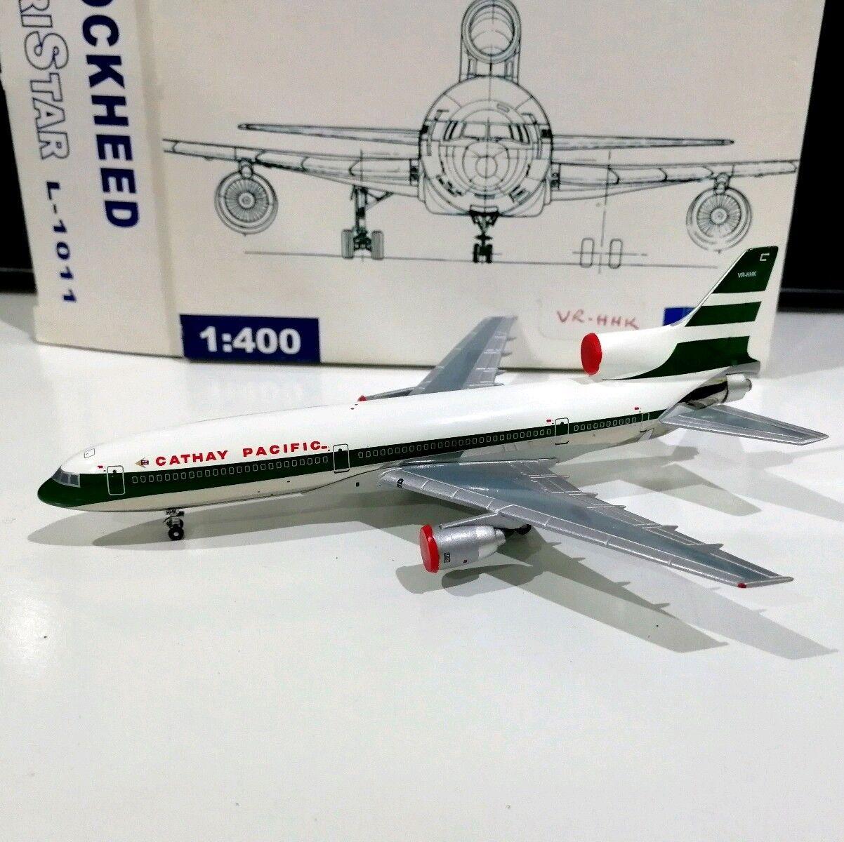 Blue Box Cathay Pacific Airways L1011 Tristar VR-HHK 1/400 scale model air plane   Ingénieux Et Pratique    Respectueux De L'environnement    Matériaux Sélectionnés Avec Soin