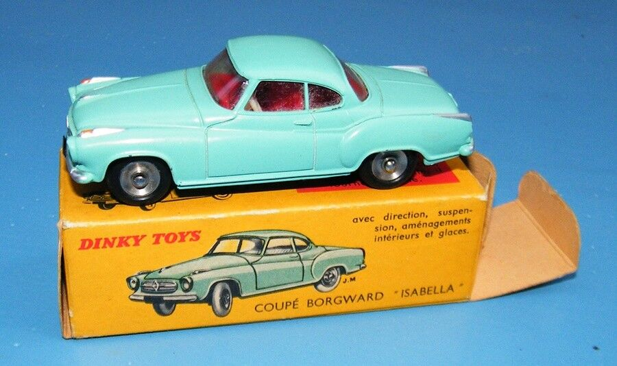 French Dinky Toys 549 Coupe Borgward Isabella Original VNMB