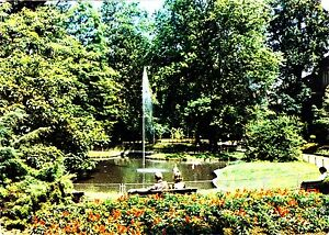 Offenburg , Zwinger-Anlagen , Ansichtskarte, 1979 gelaufen - Schwerin, Deutschland - Offenburg , Zwinger-Anlagen , Ansichtskarte, 1979 gelaufen - Schwerin, Deutschland