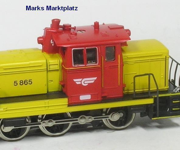 H0 diesellok di 5 865 NSB Märklin 3148 productos nuevos en su embalaje original