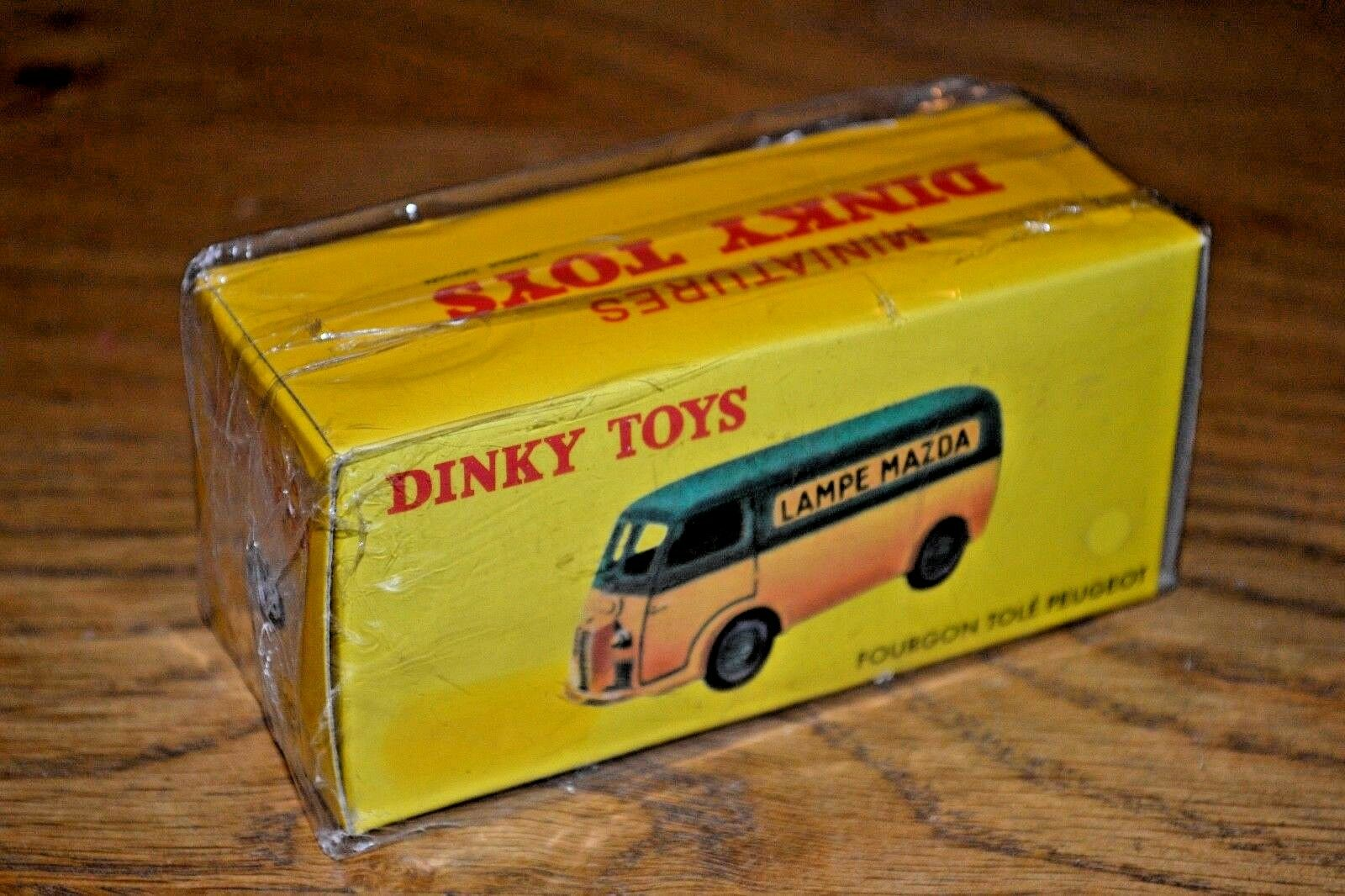 2012 edición francés Dinky Toys Atlas Diecast no. 25B FOURGON TOLE Peugeot