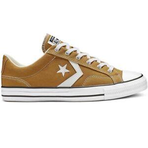 Details zu Converse Star Player Sneaker Herren Schuhe braun weiß 165459C