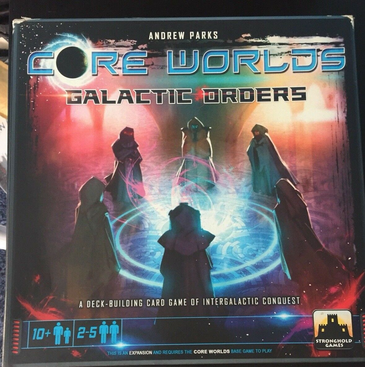 Core Worlds 1 + Core Worlds Galactic Orders Board Game Stronghold  STG01003