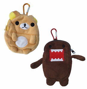 domo kun kids childs toy wallet purse monster bear phone case soft