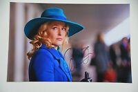 Gillian Anderson signed 20x30cm Hannibal Foto Autogramm / Autograph in Person ..