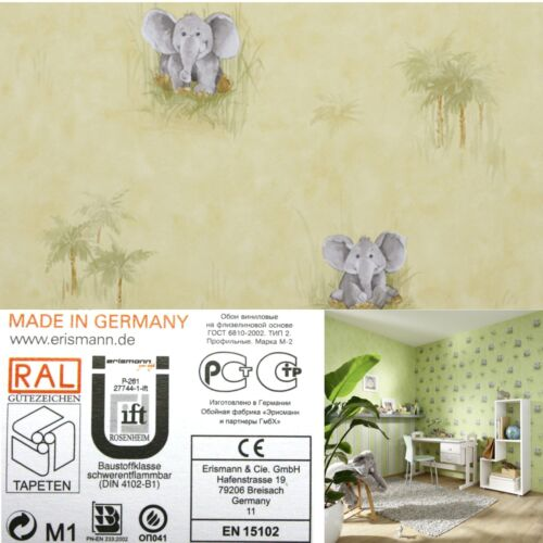 wonderland 7278-03 NEUF éléphant beige Papier papier peint