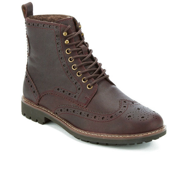Clarks Mens X Montacute Lord Brown WarmLined Lea G
