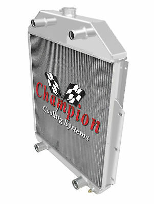 Ford V8 1948 1949 1950 1951 1952 Ford 1//2 Ton Truck 3 Row RS Radiator