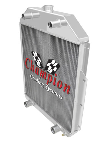 2 Row AL Champion Radiator for 1942-1952 Ford Truck Flathead Configuration