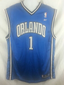 45f558692 Orlando Magic Tracy McGrady  1 NBA Basketball Jersey Reebok Men s ...