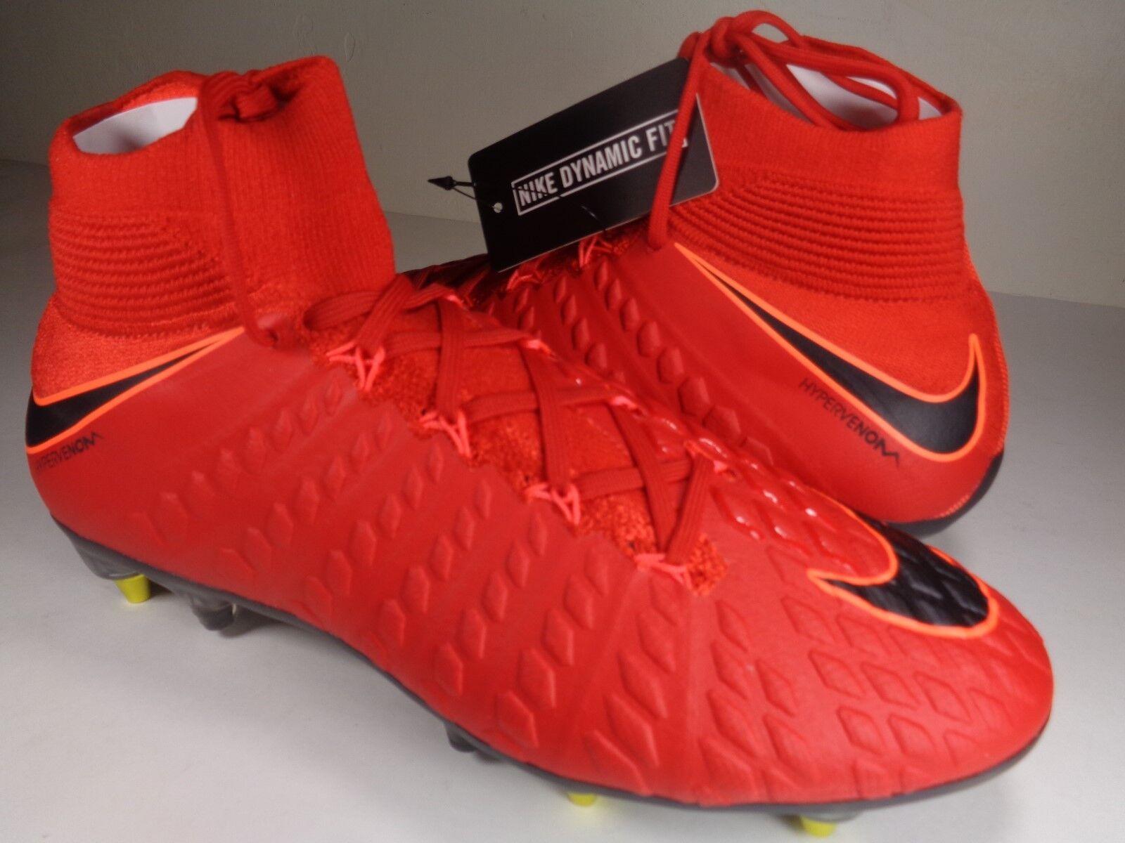 Nike hypervenom fantasma 3 DF SG Pro Ac 9,5 Universidad Rojo Soccer SZ 9,5 Ac (899982-616) 42cf76
