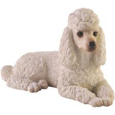 ♛ SANDICAST Dog Figurine Sculpture Poodle White
