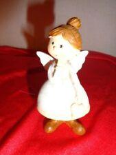 Engel Weihnachtsengel rot orange Schutzengel H 23 cm