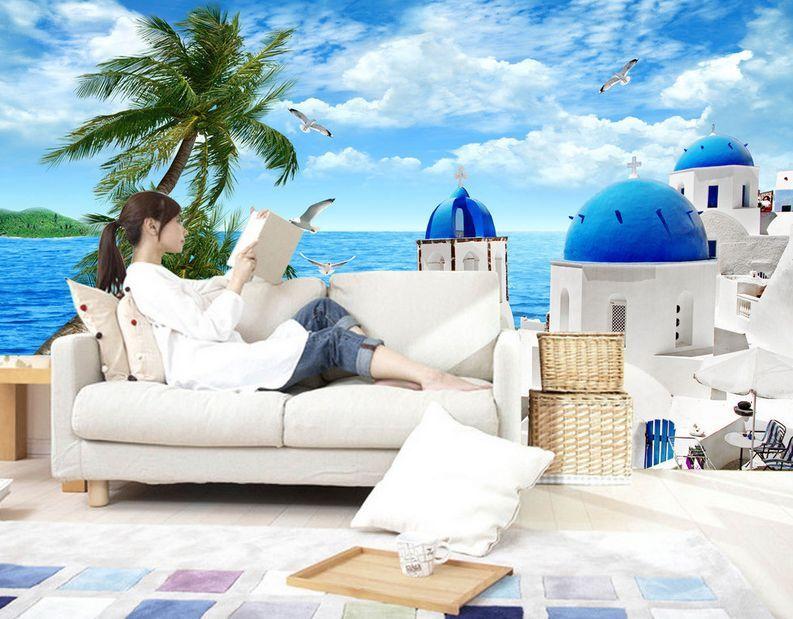 3D Aegean Water tree 269 Paper Wall Print Decal Wall Wall Murals AJ WALLPAPER GB