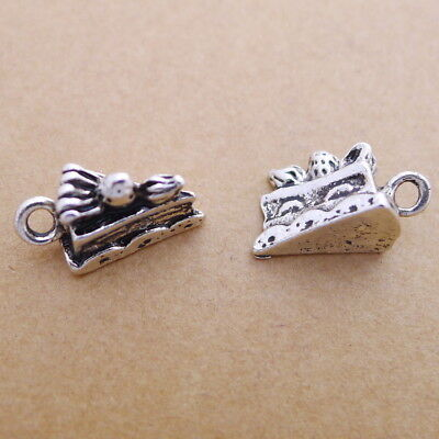 10pcs Charms Screwdriver Repair Tools 3D Tibetan Silver Bead Pendant DIY 6*31mm