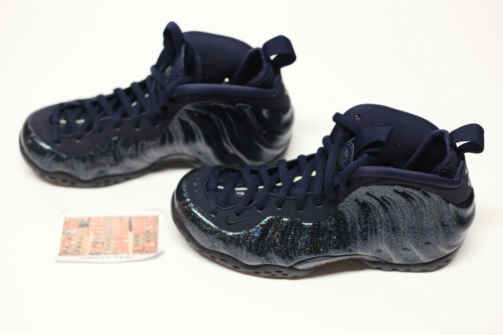NIKE AIR FOAMPOSITE ONE MIDNIGHT NAVY 1985 Gallery
