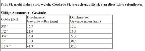 """Gewinde L03 Gewinde in L Form mit Innengewinde 1//2/"""" AG-1//2/"""" IG aus Kupfer"""